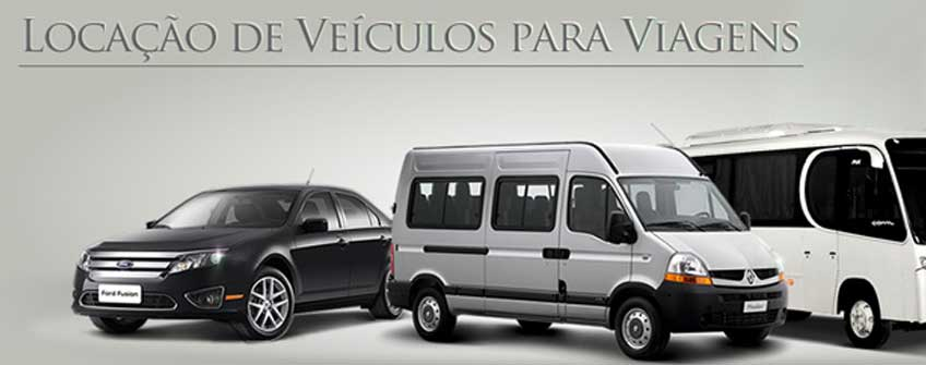 Locação de Veículos - Aluguel de Vans